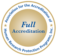 Association for the Accreditation of Human Research Protection Programs logo
